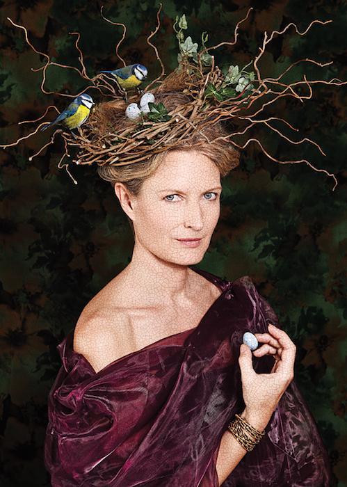 creative portrait of Kate Stanners, creative director, Saatchi & Saatchi