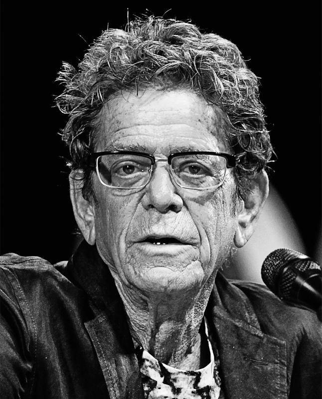 Portrait of Lou Reed by Julian Hanford