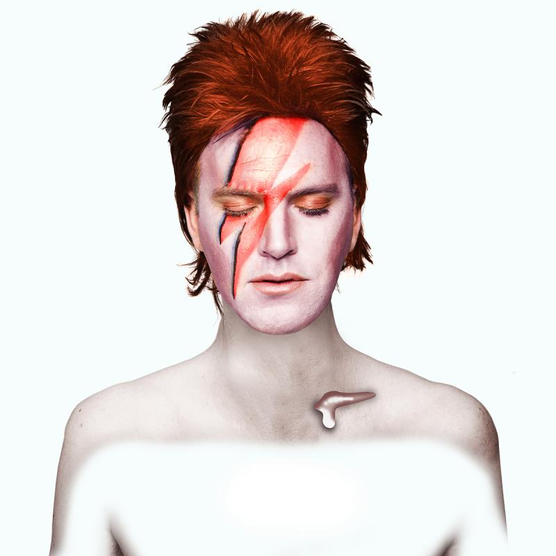 Not David Bowie by Julian Hanford