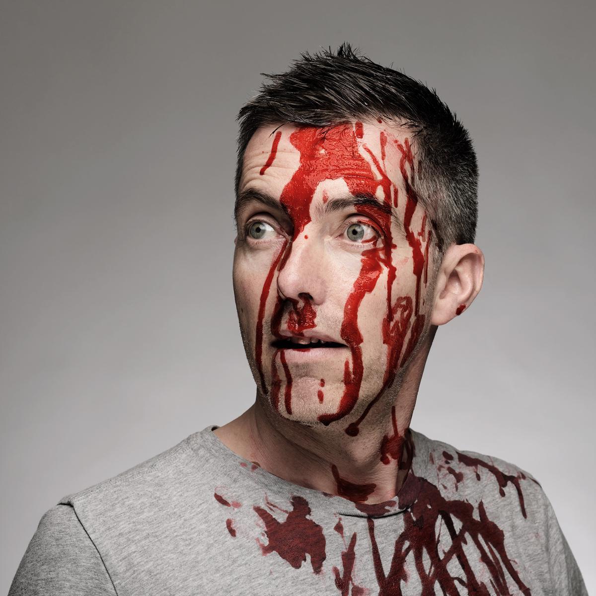 Creative Portrait of Alex Turner, Director at Fat Lemon Films by Julian Hanford