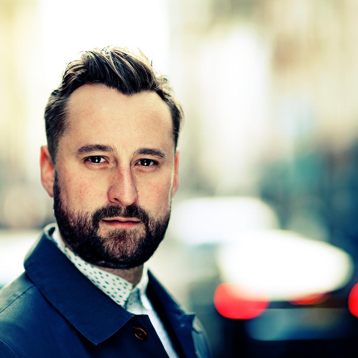 Professional linkedin photo of Alex Walker-Sage (Studio of Art & Commerce, London) by Julian Hanford