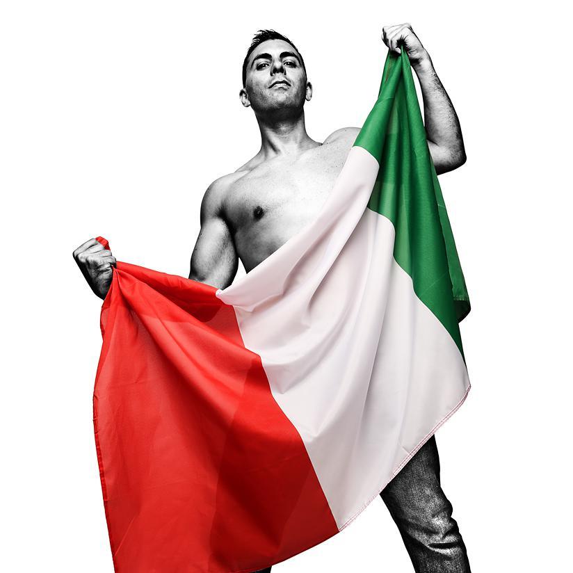 Portrait of Attilio Gianfrancesco - Creative corporate photography by Julian Hanford