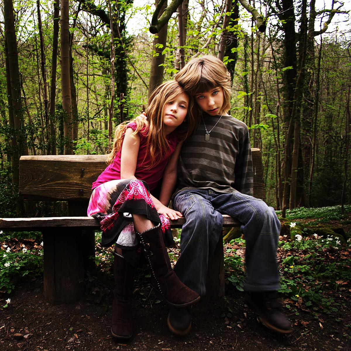 Aurelia and Lucian Hanford by Artistic Portrait Photographer, Julian Hanford