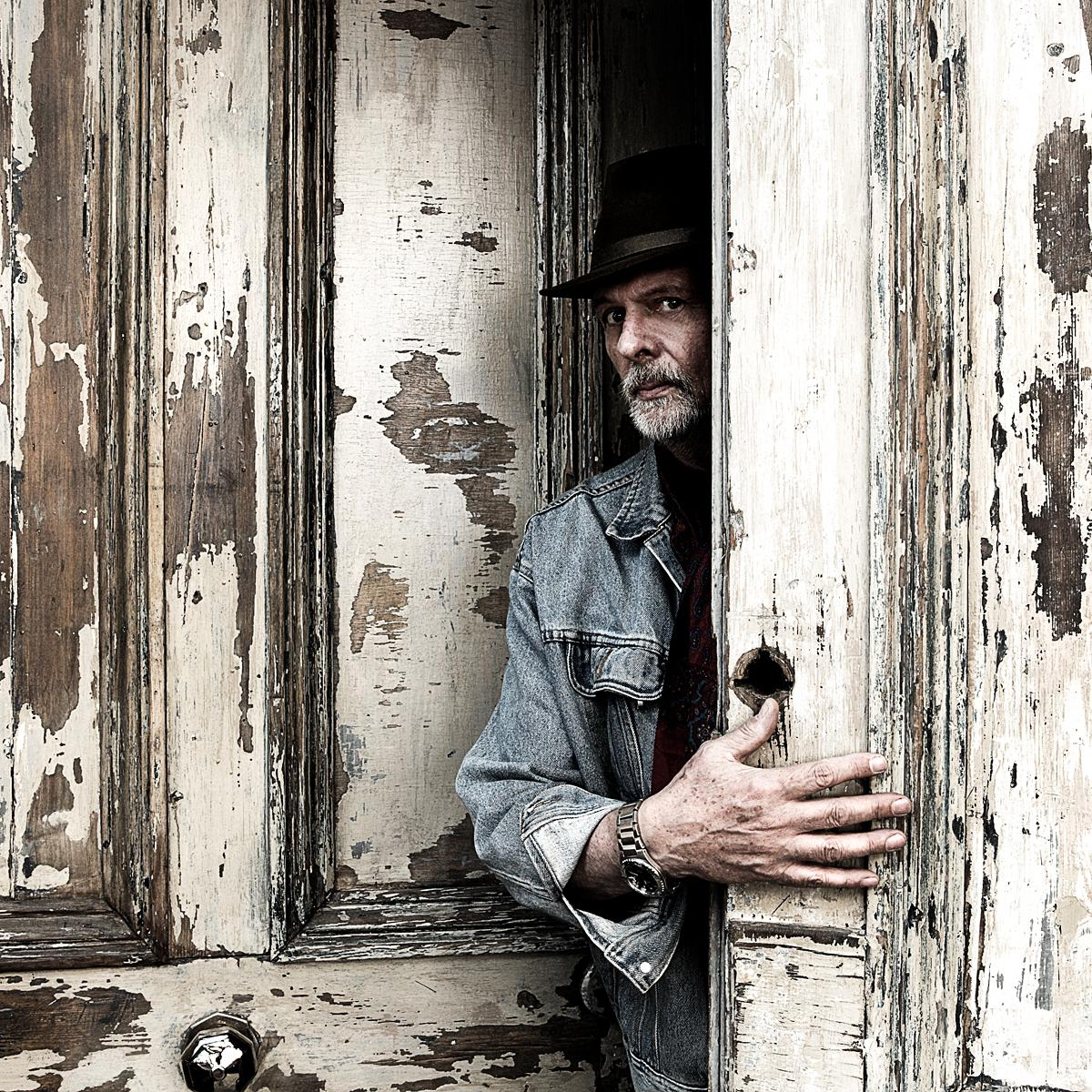Portrait of Photographer Barney Edwards by Creative Photographer Julian Hanford