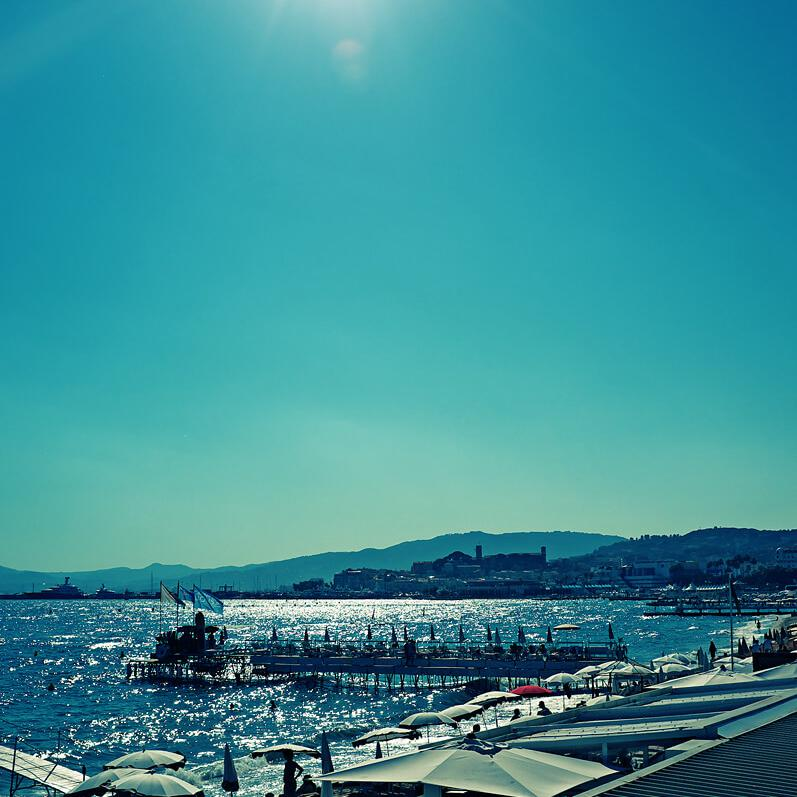 Cannes by professional London photographer Julian Hanford