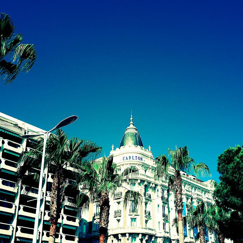 The Carlton Hotel in Cannes by London photographer Julian Hanford