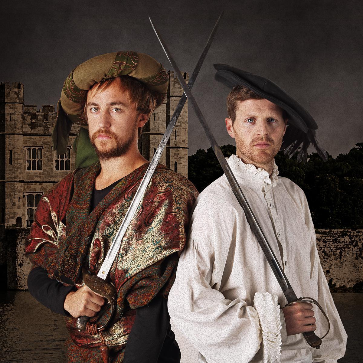 Creative Portrait of Christopher Barrett & Luke Taylor by Julian Hanford for Shots Magazine