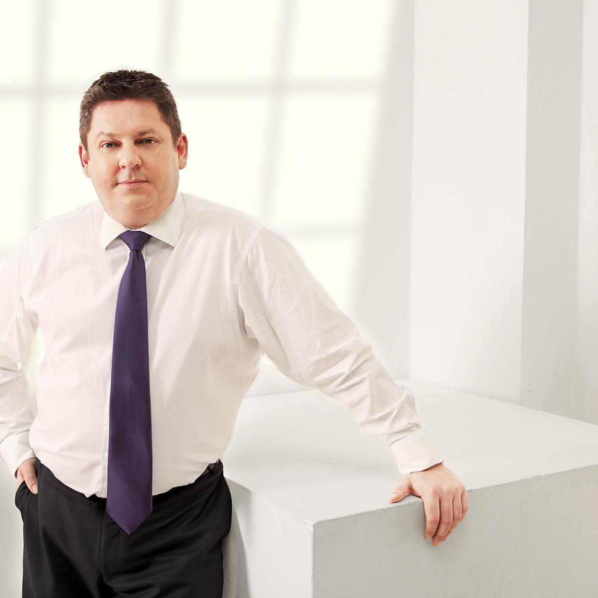 Photography for Ironsure Inc. by Julian Hanford, corporate portrait photographer London