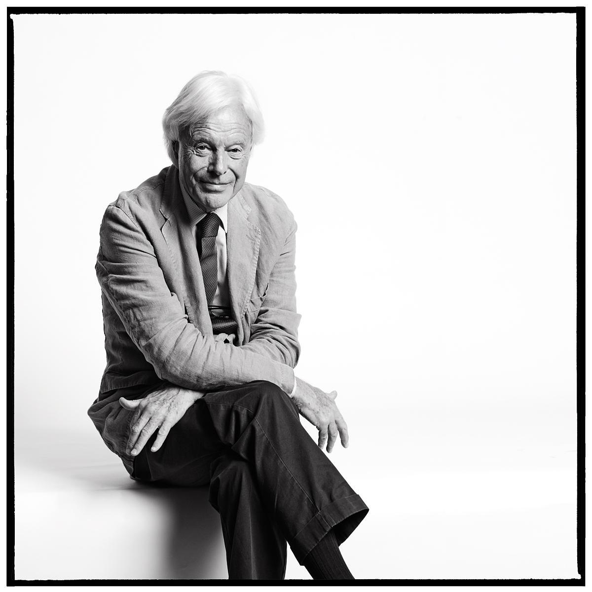 Portrait of David Abbott, Founder of Abbott Mead Vickers by Julian Hanford
