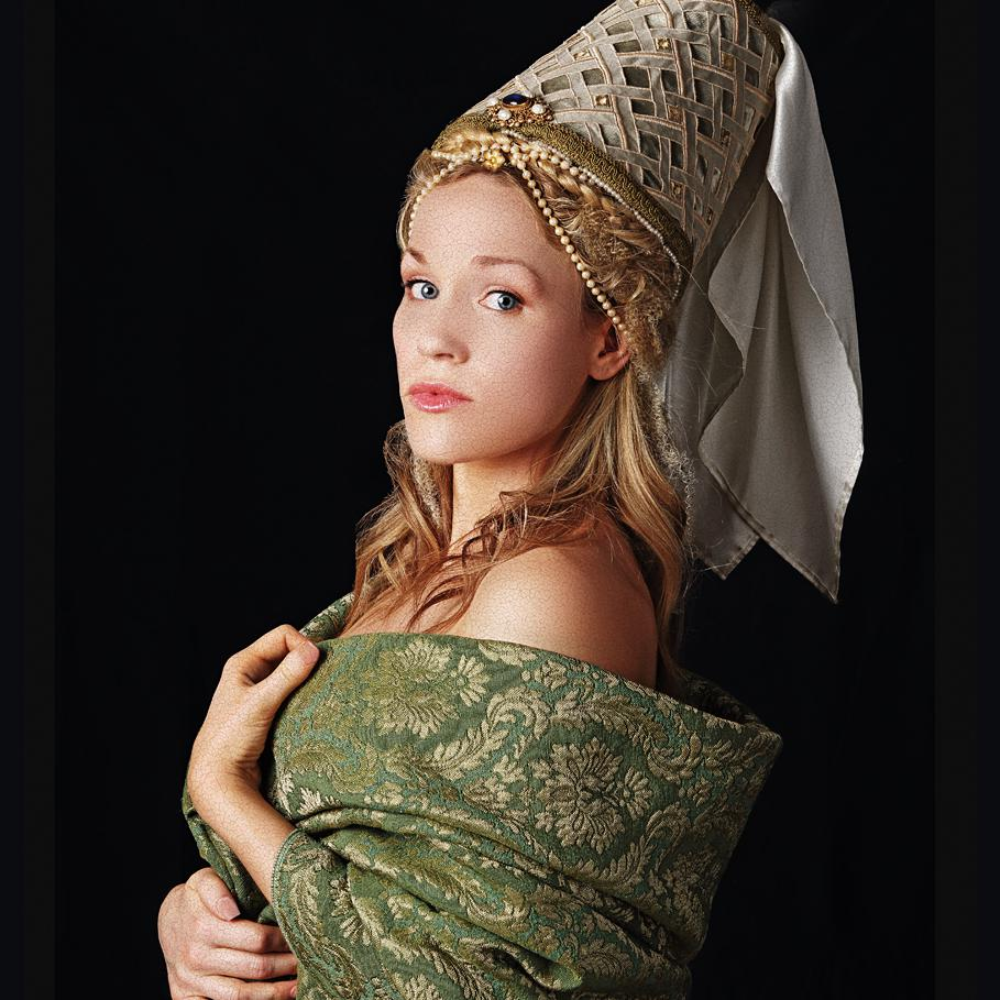 Creative Portrait photograph of Fern Beresford by Julian Hanford for Shots Magazine