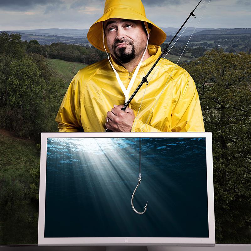 Portrait of Flo Heiss, Exec Creative Director of Studio of Art & Commerce by Julian Hanford