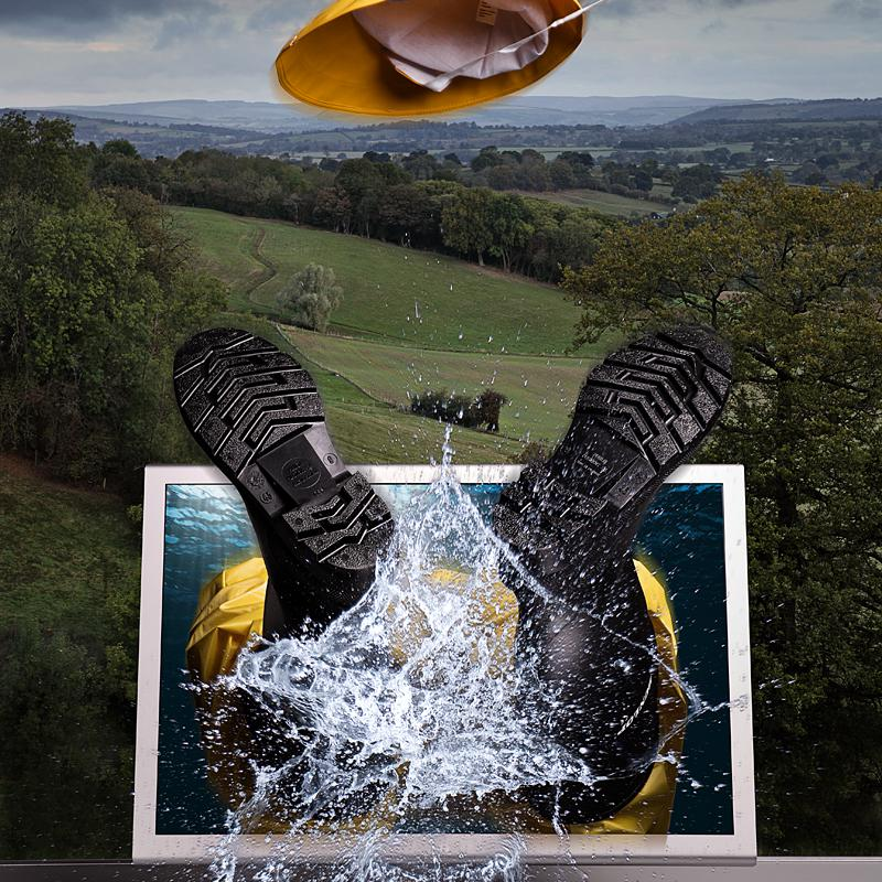 Creative portrait photography of Flo Heiss, Studio of Art & Commerce by Julian Hanford