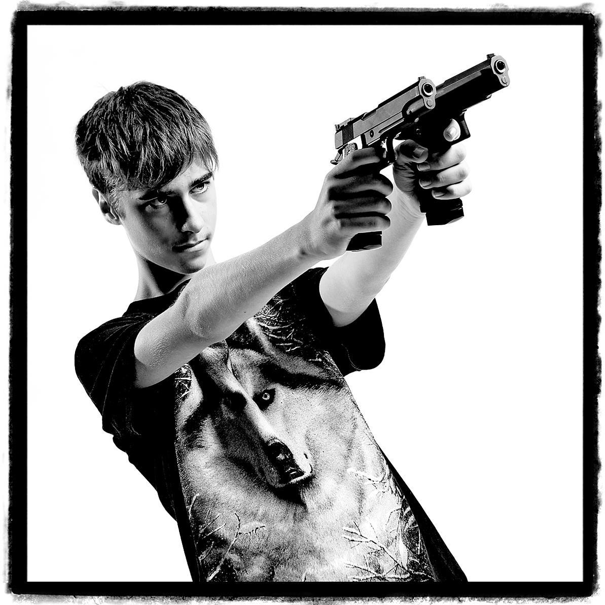 Gangsta No.1 - Creative portraiture by Julian Hanford
