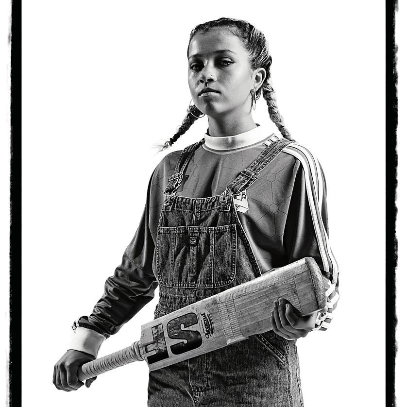 Gangsta No.6 - creative portrait by Julian Hanford