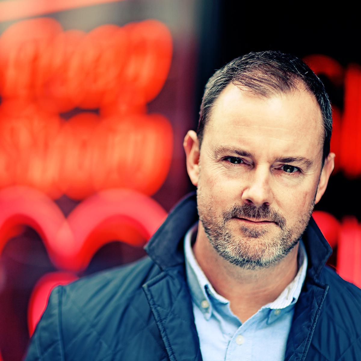 Professional Portrait of Gavin Bell (Studio of Art & Commerce, London) by Julian Hanford