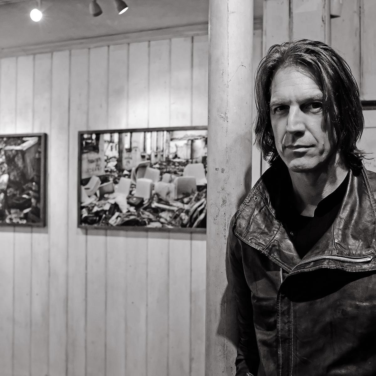 Photograph of Graham Fink, Artist & Creative by Julian Hanford