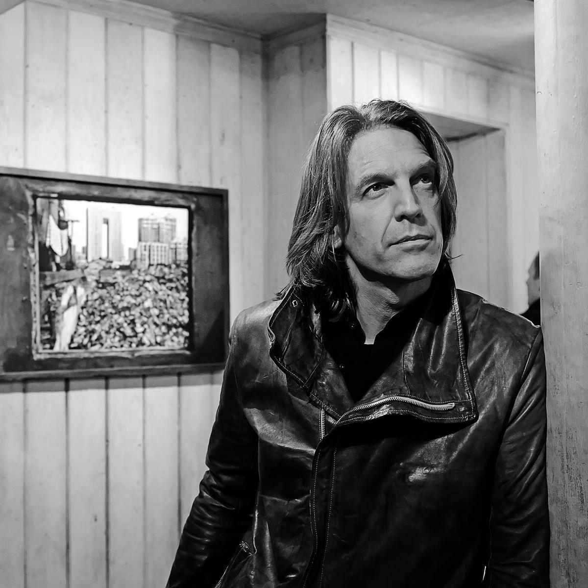Professional Photograph of Graham Fink, Artist & Creative by Julian Hanford, London