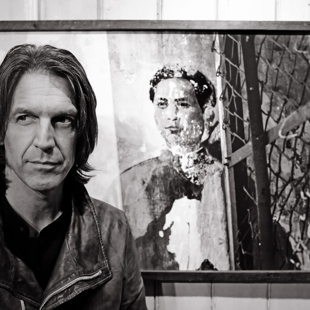 Portrait of Graham Fink, Artist & Creative by Julian Hanford