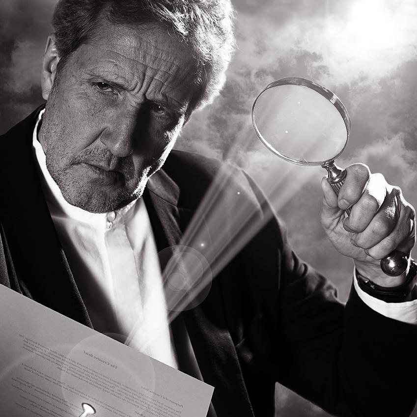 Portrait of James Lowther, Founding Partner of M&C Saatchi by Julian Hanford