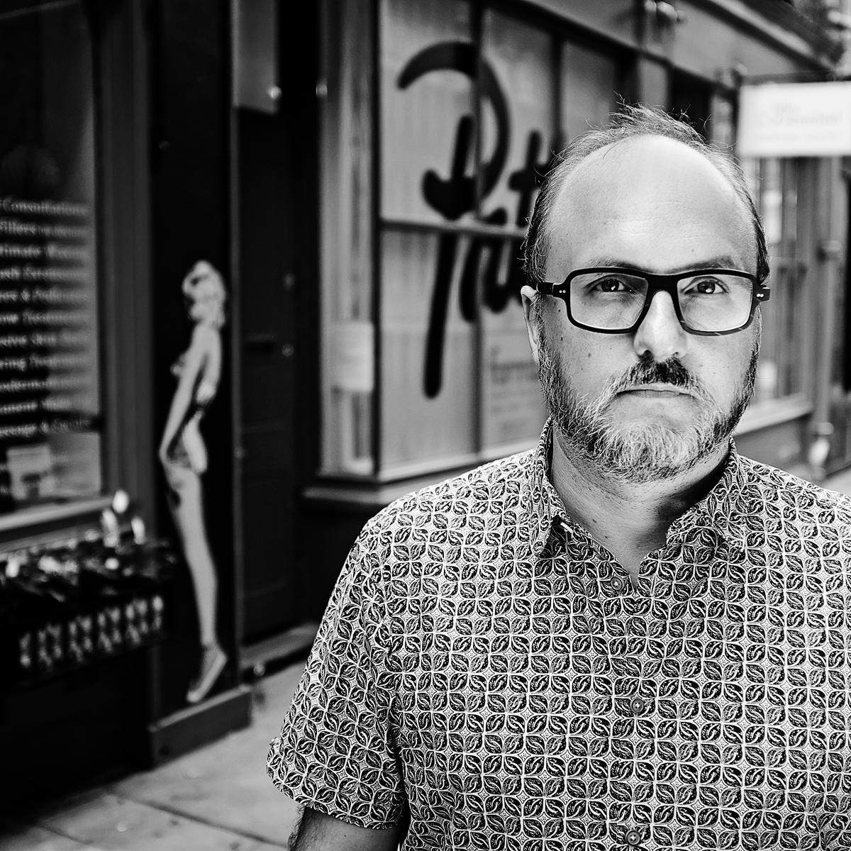 Portrait of Joakim Borgstrom, Executive Director at BBH London by Julian Hanford