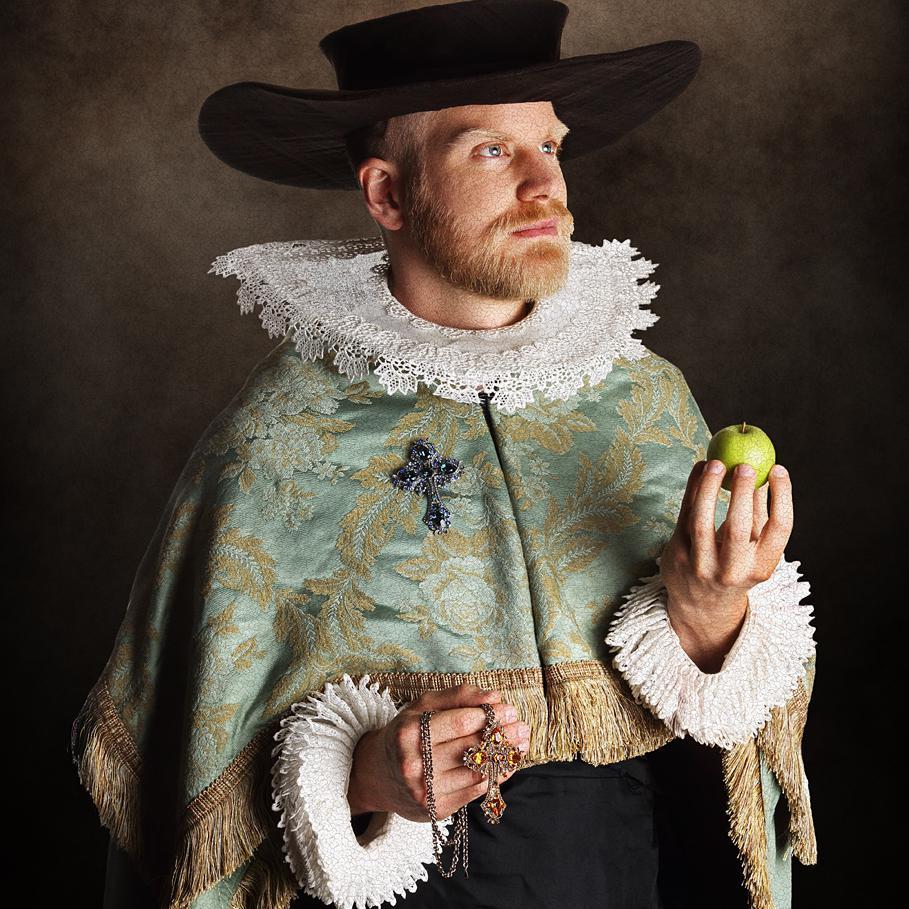 Portrait of Juriann Boojj for Shots Magaine - Creative costume photography by Julian Hanford