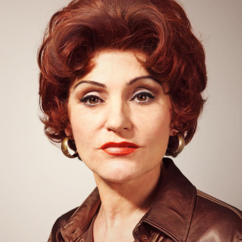 Portrait of Kiki Kendrick as Elsie Tanner by Julian Hanford