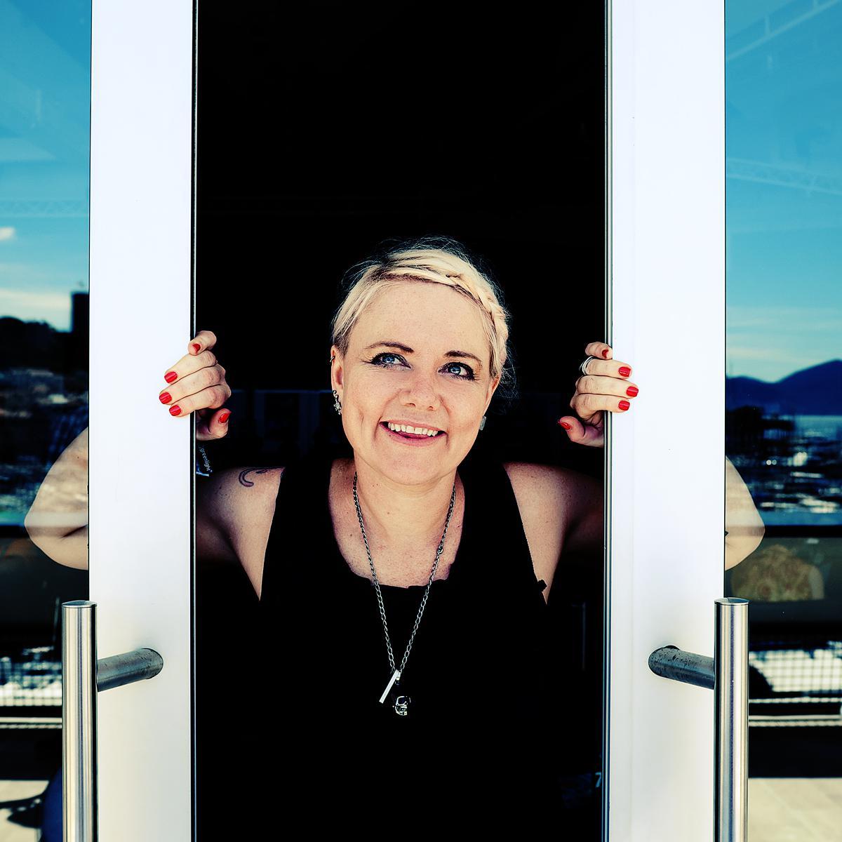 Creative Corporate Portrait of Laura Jordan Bambach by Julian Hanford