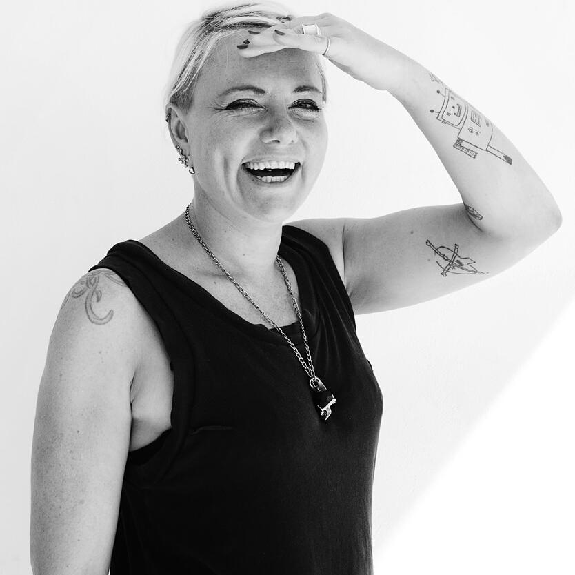 Portrait of Laura Jordan-Bambach (digital designer & creative director) by Julian Hanford