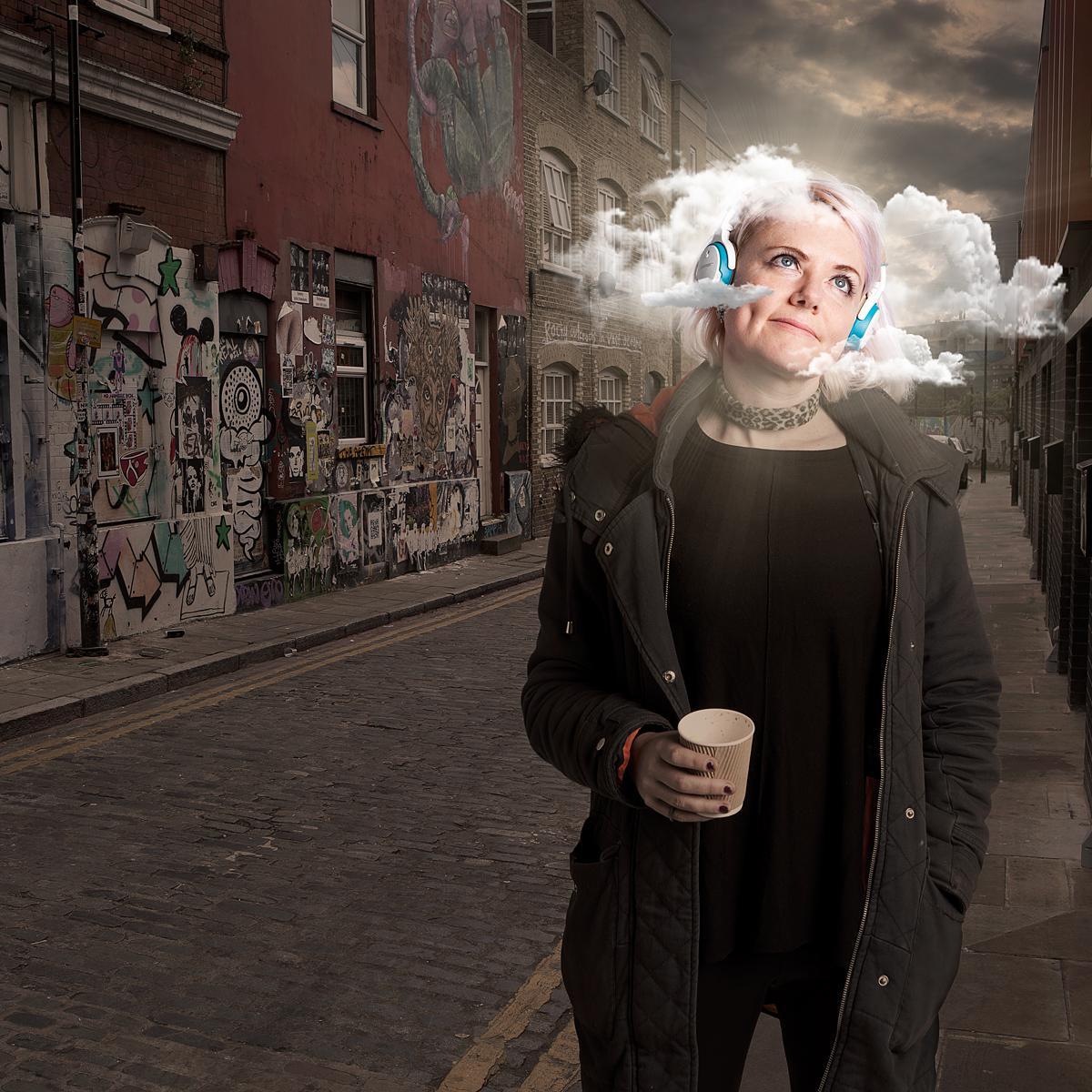 Creative Portrait of Laura Jordan Bambach by Julian Hanford, photographer