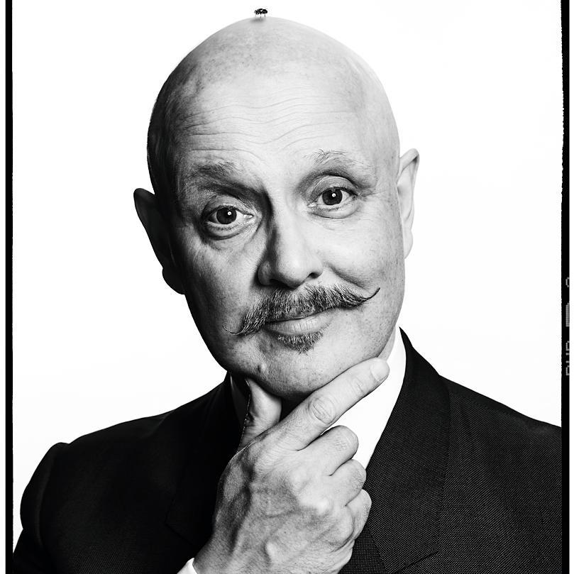 Creative portrait of Mark Denton, Film Director & Advertising Legend by Julian Hanford