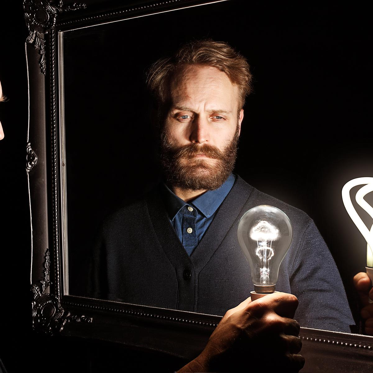 Creative Photograph of Nicolas Roope by Julian Hanford