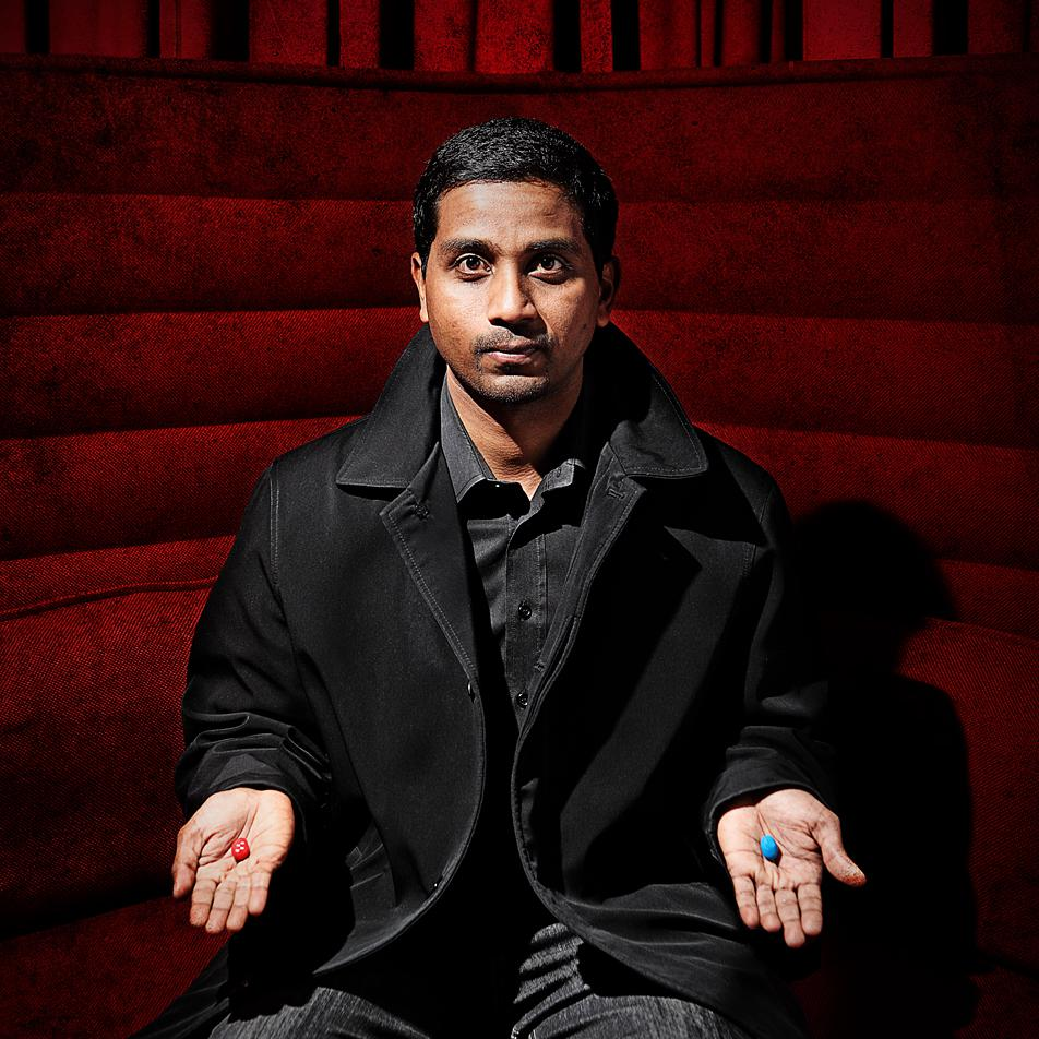 Portrait of Nigel Vaz, Sapient Nitro for The Drum by Julian Hanford