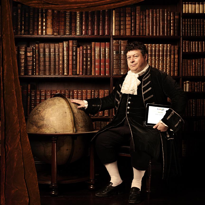 Portrait of Rory Sutherland by fine art photographer Julian Hanford, London