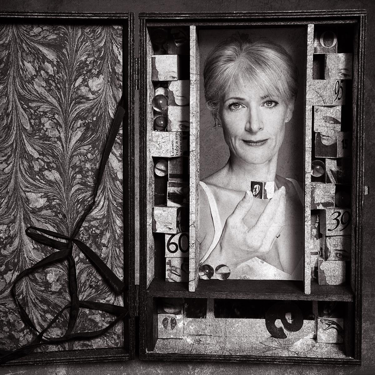 Portrait of Rosie Arnold for Shots Magazine by Creative Photographer Julian Hanford