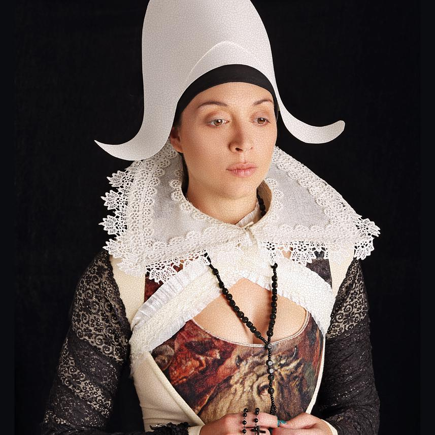 Costume Portrait of Director / Photographer Ruth Hogben by Julian Hanford
