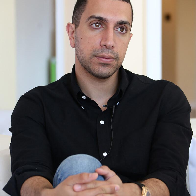 Portrait Photograph of Sean Rad (founder of Tinder) by Julian Hanford