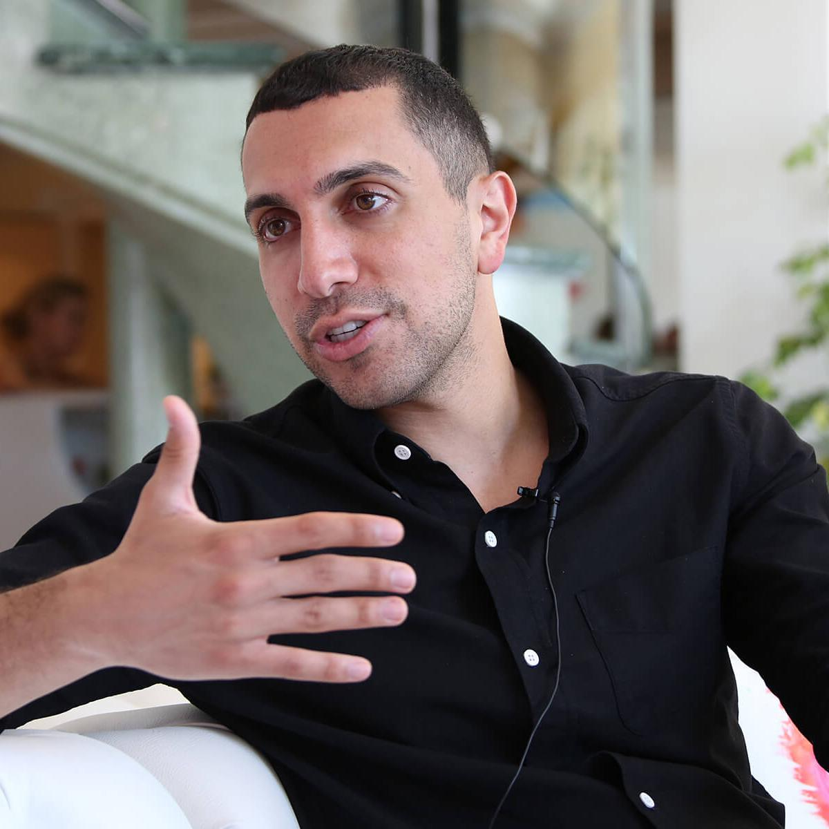 Photograph of Sean Rad (founder of Tinder) by Julian Hanford at Cannes Lions 2017