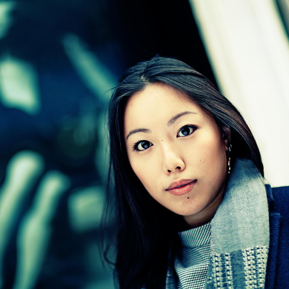 Professional Portrait of Selina Chan from London Studio of Art & Commerce by Julian Hanford