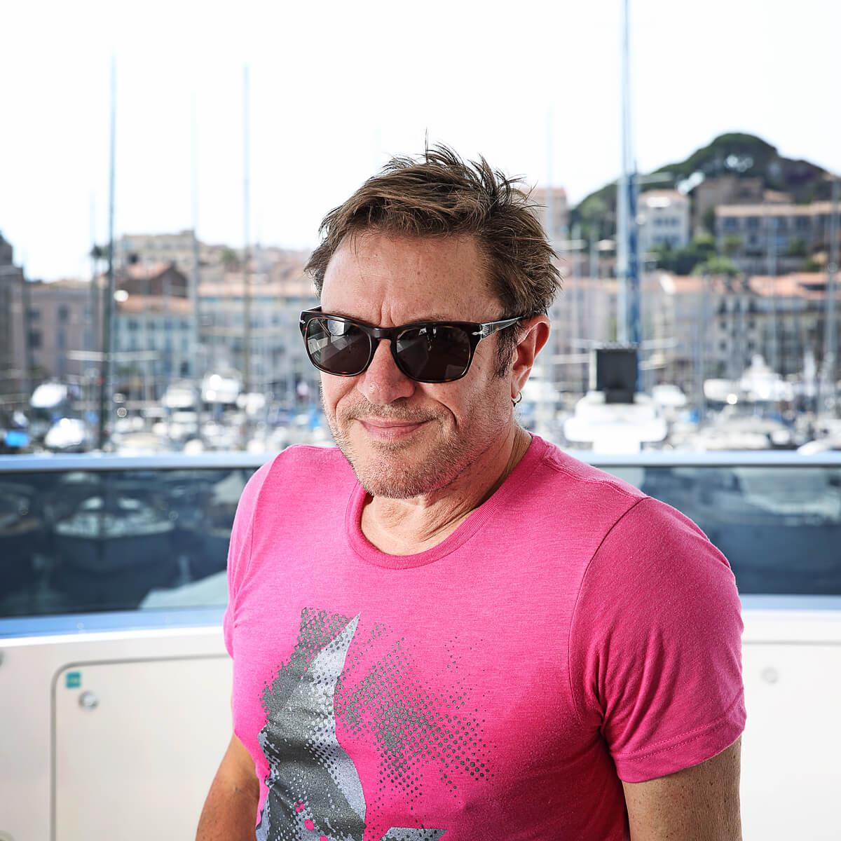 Photograph of Simon Le Bon by Julian Hanford at Cannes Lions Festival of Creativity 2017