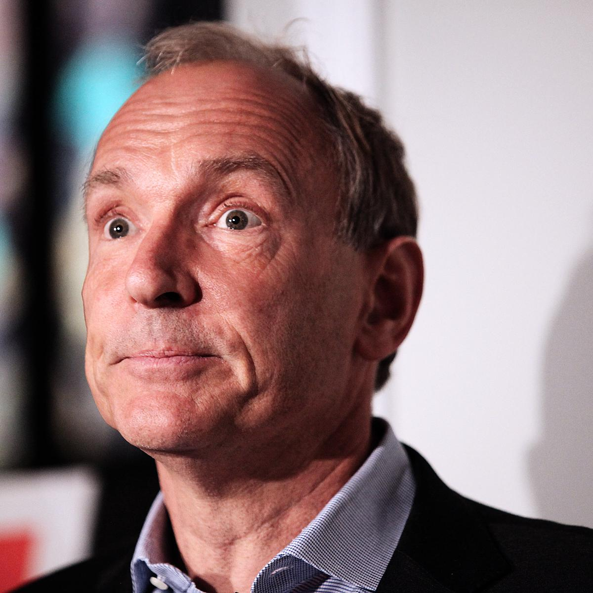 Sir Tim Berners-Lee for client Sapient Nitro by London photographer Julian Hanford