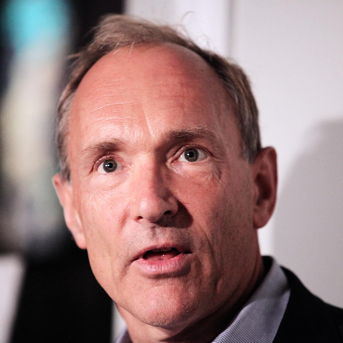 Photograph of Sir Tim Berners-Lee for client Sapient Nitro by professional photographer Julian Hanford