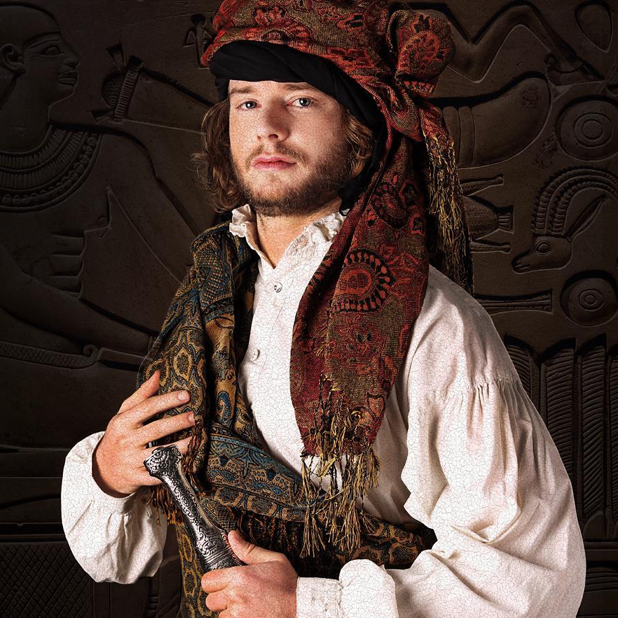 Costume Portrait Photograph of Vanya Heymann by Julian Hanford