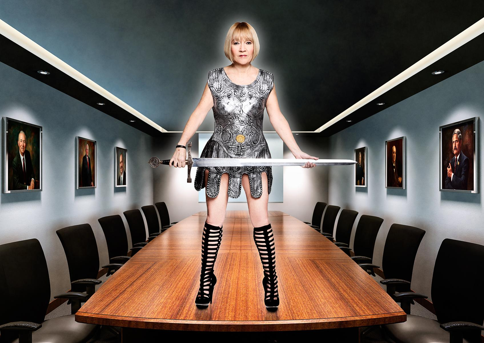 Cindy Gallop - Portrait by Julian Hanford
