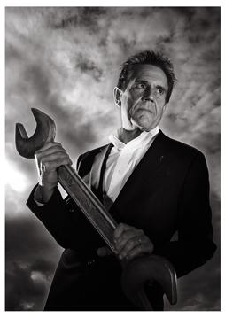 Dave Trott - Advertising Creative Legend (Portrait by Julian Hanford)