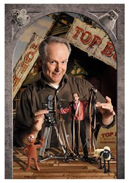 Nick Park and David Sproxton of Aardman Animation (Portrait by Julian Hanford)