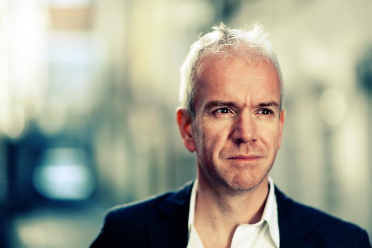 Portrait of Nick Stewart by Julian Hanford